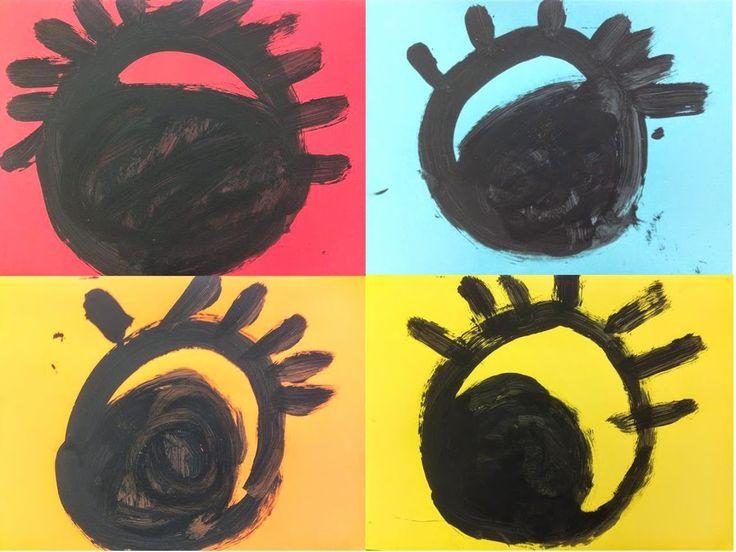 #OBRE EL ULLS - Material: cartolina, pintura - Nivell: Infantil P3 2014-15