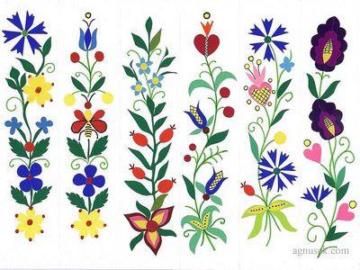 Zakładki wycinanki inspirowane haftem kaszubskim, kociewskim, 2006