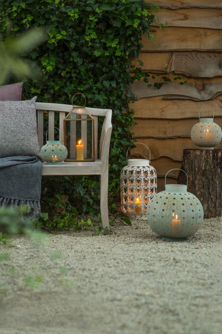 Hanging outdoor candle lanterns for patio - Filigree Sphere Lantern In Outdoor Living Lanterns At Terrain