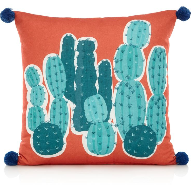 Cactus Print Cushion, read reviews and buy online at George at ASDA. Shop from our latest range in Home & Garden. Cactus Print Cushion