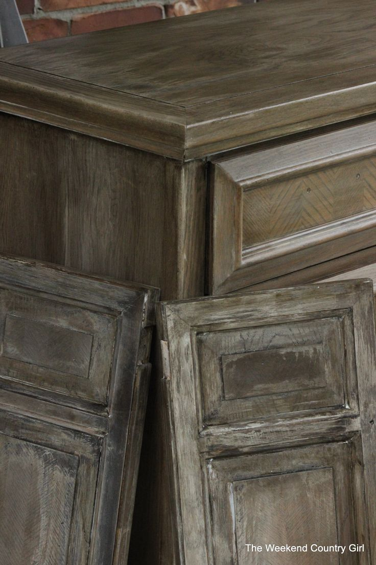 How To Achieve A Restoration Hardware Weathered Oak Finish