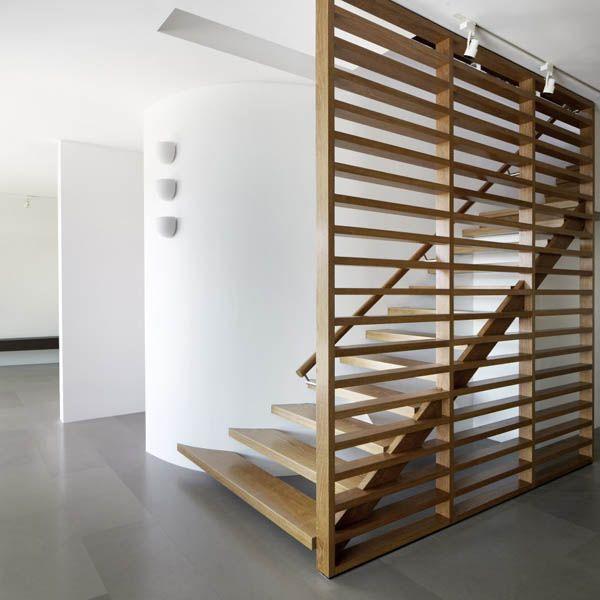 Suburban House Stairs