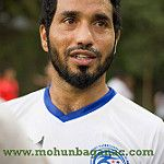Ishfaq Ahmed (born 17 March 1983) is an Indian footballer who plays as a attacking midfielder for Kerala Blasters FC in the Indian Super Leaque, Ishfaq has also played as winger and can fill in as a full-back itimes.com
