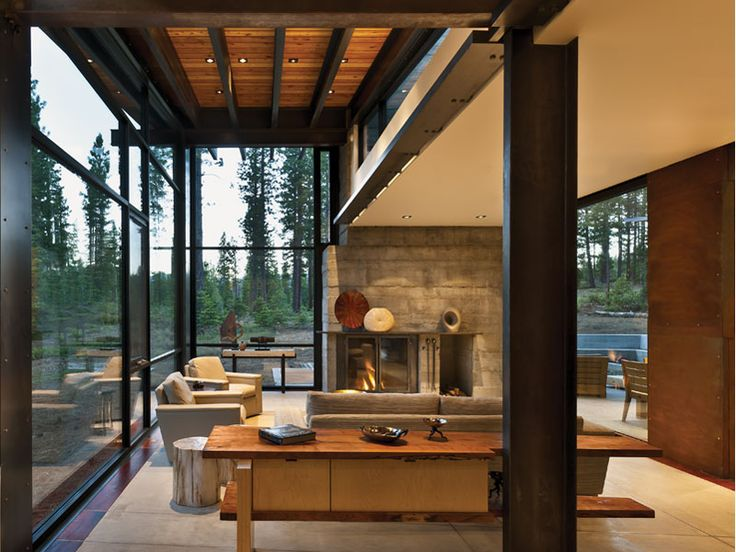 17 Best Images About Mountain Contemporary Living Room On