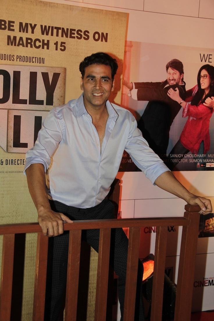 Akshay Kumar at Movie Jolly LLB Premiere.