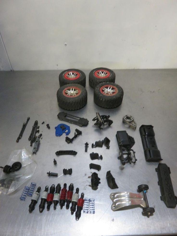 Traxxas Mini E Revo, Summit Parts, Wheels, Shocks Transmission, Motor mount, #Traxxas