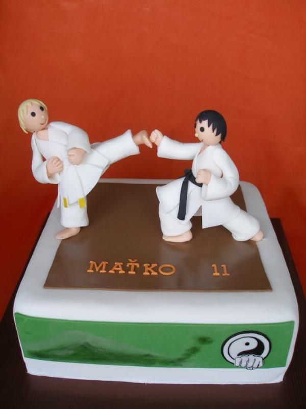 Karate Cake Design : 18 best images about Karate Cakes on Pinterest