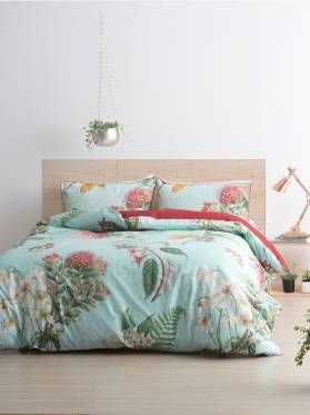 NZ Vintage Floral Duvet Cover Set