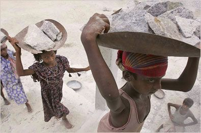slavery today pictures and quotes | The World Day Against Child Labour , launched by the International ...