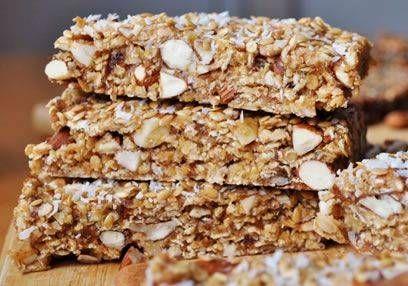 Muesli & Peanut Butter Bars (Vegan)