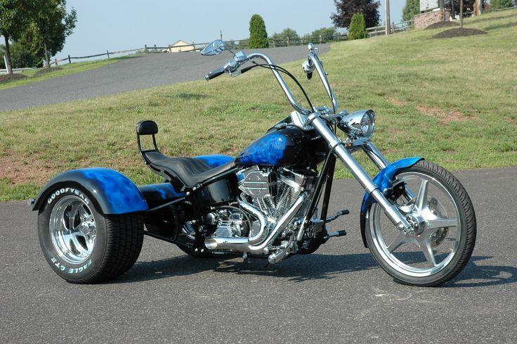 Custom Motorcycle Wheels for Harley Davidson | Harley-Davidson Softail ACM Softail Trike