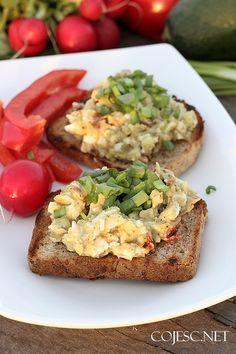 Kanapkowa pasta z jajek i awokado | Zdrowe Przepisy Pauliny Styś
