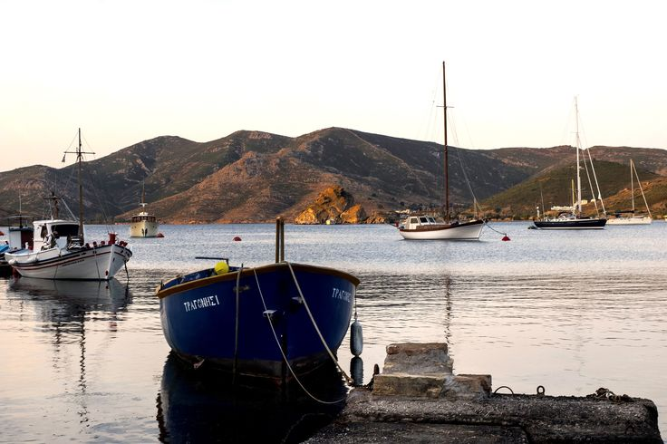 A traditional yet romantic atmosphere.. This is the genuine aura in ‪#‎Grikos‬ bay. | ‪#‎patmosaktis‬ ‪#‎patmos‬