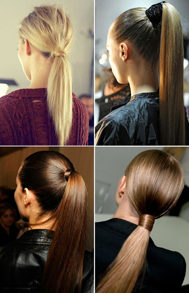 Beauty Inspiration: Ponytails | Collage Vintage