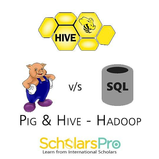 Read out our latest blog to know the difference Between PIG AND HIVE (HADOOP)? Visit http://www.scholarspro.com/difference-pig-hive-hadoop/