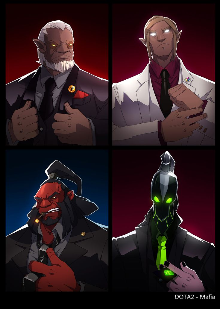 dota2 Mafia by biggreenpepper on deviantART