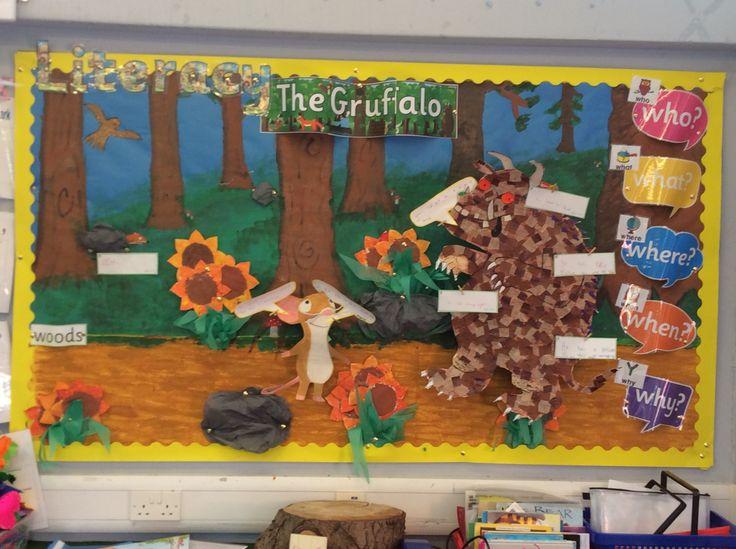 The Gruffalo Display Year 1