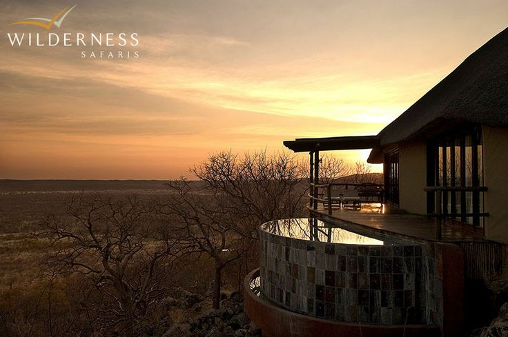 Little Ongava is idyllically perched on a rocky outcrop overlooking a waterhole. With only 3 spacious, luxurious and private units, Little Ongava offers an intimate and exclusive experience. #Africa #Safari #Namibia