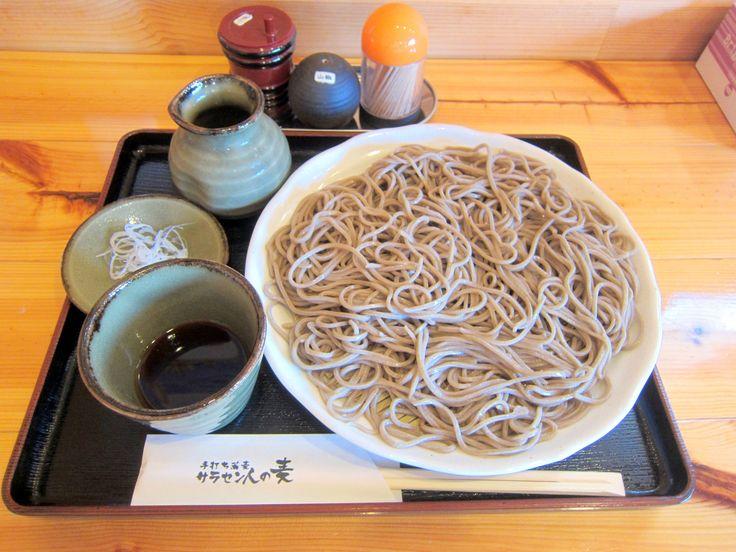 #Soba #Tanuki_soba #Inaka_style #Mori_soba #Noodles #Lunch #SARACEN_JIN_NO_MUGI #Ebetsu #Japan #蕎麦 #たぬき蕎麦 #田舎のもり蕎麦 #珍しい命名のお店 #サラセン帝国由来 #江別市 #サラセン人の麦 #소바 😊