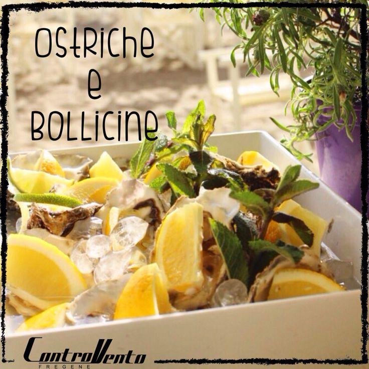 Raw Fish, Italian Style, Aperitif Controvento Fregene, Rome