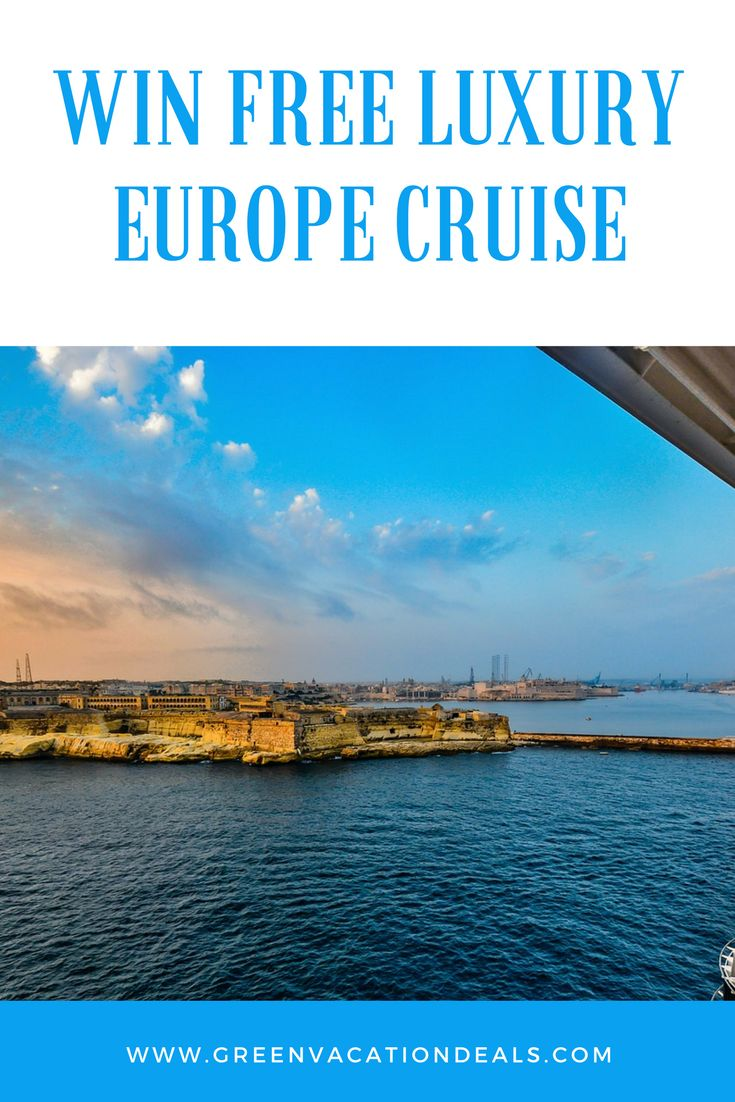 Win a free European cruise! Enter this travel sweepstakes and win a 10-day ultra-luxury cruise. Take an amazing trip through Europe for free! #sweepstakes #giveaway #Giveaways