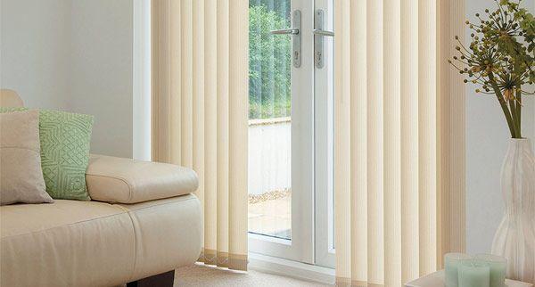 VERTICAL BLIND - BIEGE LIVING ROOM BEDROOM 01 BEDROOM 02