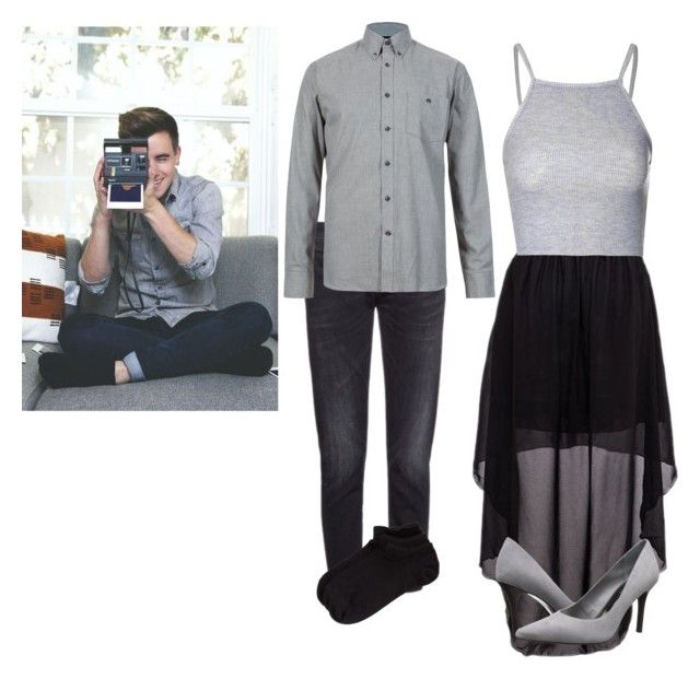 """Brother And Sister Picture~~~ Connor Franta"" by alicia45-i ❤ liked on Polyvore featuring R13, Zella, Glamorous and Lauren Ralph Lauren"