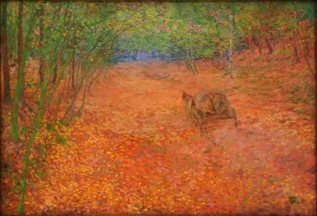 Otakar Lebeda - Podzim, (1897)