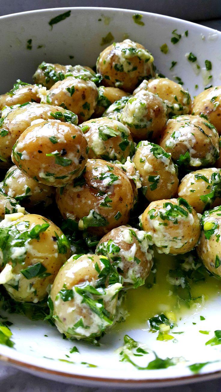 Buharda Pişmiş Bebek Patatesler