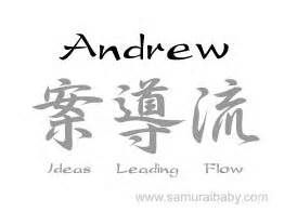 Meaning of Andrew.... Andrew Jr