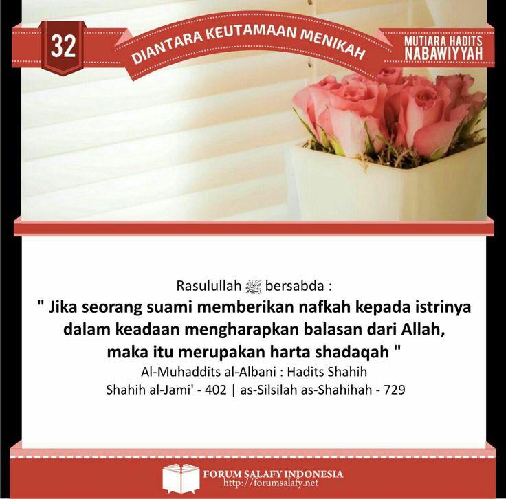 Galeri Poster Dakwah Ahlussunnah: Keutamaan menikah