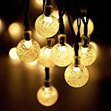 Solar Powered Garden Lights MY CARBON LED Christmas Lights Waterproof Solar String Lights Outdoor Landscape Lighting... christmas deals week