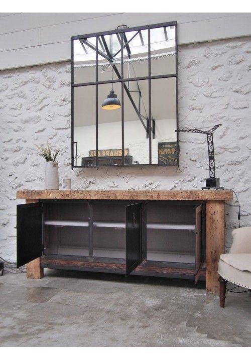 19 best deco loft images on pinterest home ideas loft and loft apartments. Black Bedroom Furniture Sets. Home Design Ideas