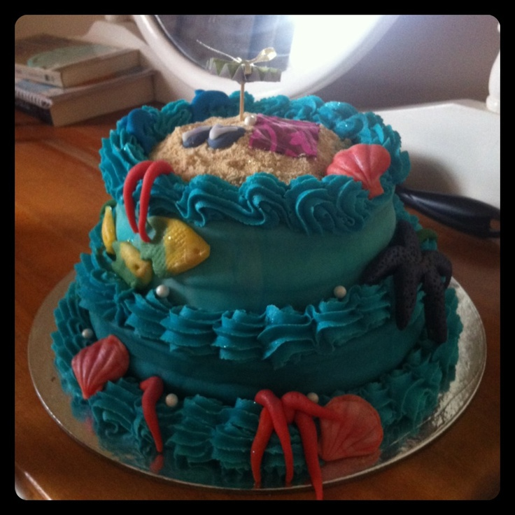 A seaside es-cake!