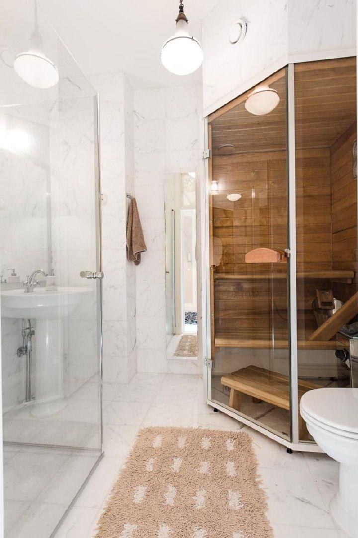 56 besten Bad mit sauna Bilder auf Pinterest Badezimmer, Saunen - sauna fürs badezimmer