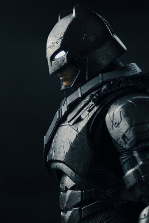 Miracle Action Figure EX: Armored Batman Image... | Vyntic