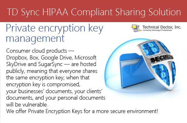 Private encryption key management