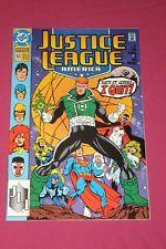 Justice League America #63 DC Comics 1992, Superman, Booster Gold