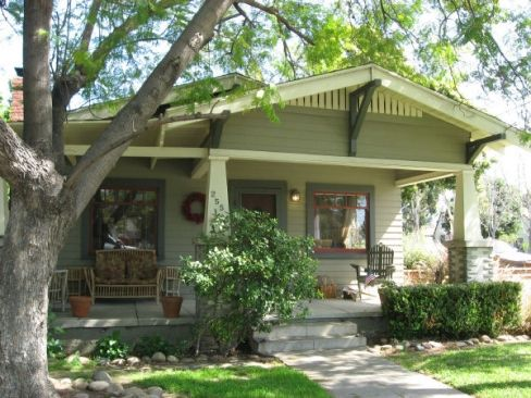 ... Craftsman Bungalow Home Exterior