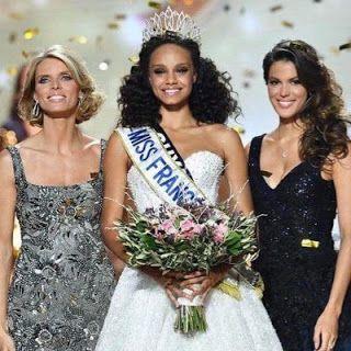Alicia Aylies, Miss Guyane,f Miss France 2017 !   Félicitations à Alicia Aylies,Miss Guyane, qui devient la Miss France 2017