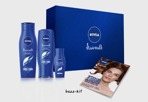 Sampon si Balsam Nivea Hairmilk. #buzzaar #NIVEAhairmilk