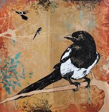 magpie in art - Google Search