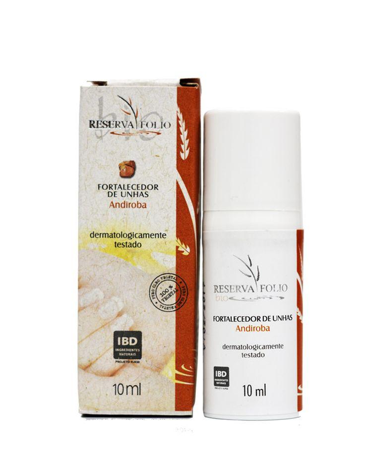 O FORTALECEDOR DE UNHAS ANDIROBA é a combinação perfeita do óleo da andiroba com nobres óleos vegetais que juntos ajudam a fortalecer e hidratar as unhas, acabando com o escamamento, a fácil quebra e o frisamento, além de auxiliar no tratamento de micose. http://www.revendaamaterra.com.br/loja/espaco-ngmarketplace