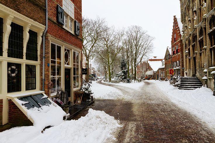 Winter in #Veere, #Netherlands
