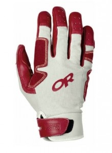 Outdoor Research Air Brake Glove.    http://www.climbing.com/gear/outdoor-research-air-brake-glove/