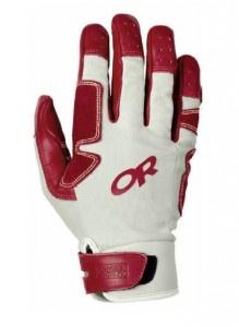 Outdoor Research Air Brake Glove.    http://www.climbing.com/gear/outdoor-research-air-brake-glove/