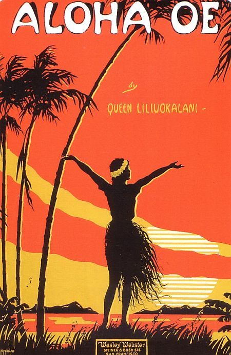 Queen Liliuokalani wrote this beautiful song that is still sung at openings of official functions.