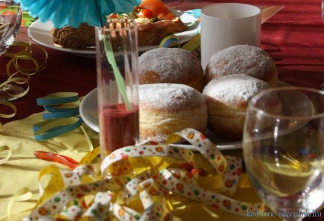 Egyszerű, kipróbált recept: Farsangi fánk. Hozzávalók, az elkészítés részletes leírása és az elkészült recept fotója Édes sütemények kategóriában.