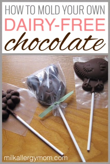 How To Mold Dairy-Free Chocolate Holiday Candies | Milk Allergy Mom