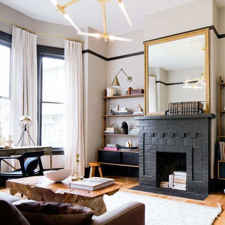 Editor In Chiefu0027s Inspiring Victorian Makeover. Home Architecture  DesignLiving Room ...